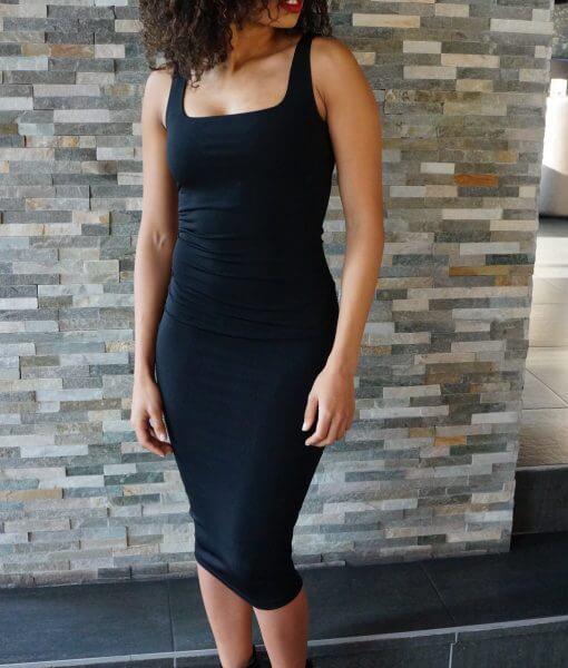 zwarte-stretch-jurk