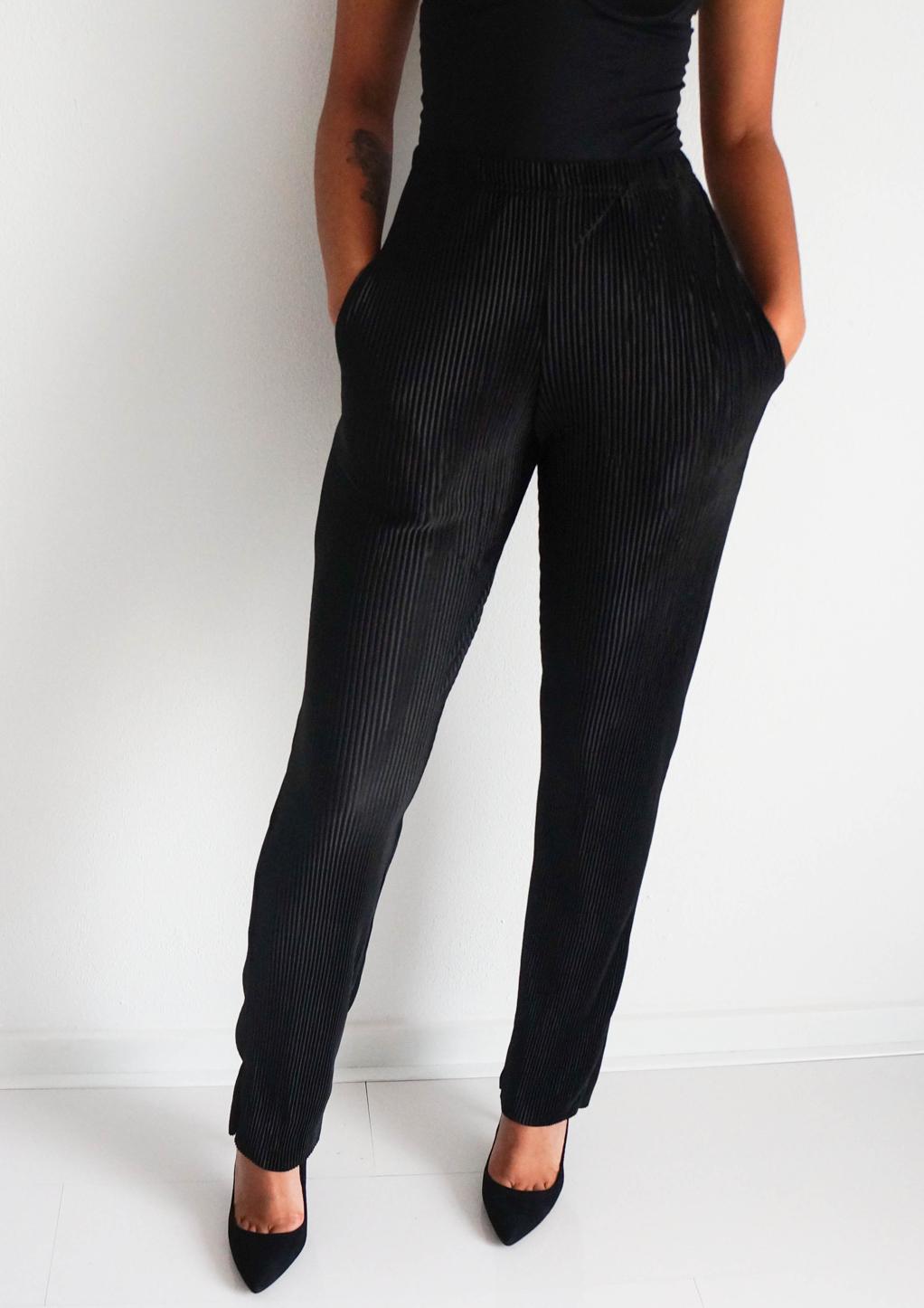 zwarte pantalon met stretch bestellen?
